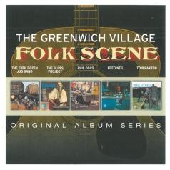 Original Album Series - Greenwich Village Folk Scene (Tom Paxton - Ain'T That News / Fred Neil - Bleecker & Macdougal / The Even Dozen Jug Band - The Even Dozen Jug Band / Various Artists - The Blues Project / Phil Ochs – I Ain'T Marching Anymore)