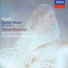 James Bowman: Vivaldi: Stabat Mater; Concerto in G minor; Nisi D