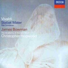 James Bowman (Джеймс Боуман): Vivaldi: Stabat Mater; Concerto in G minor; Nisi D