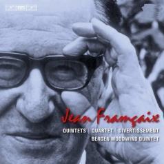 Bergen Woodwind Quintet (Бергенский духовой квинтет): Francaix: Quintets - Quartet