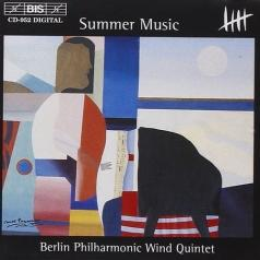 Berlin Philharmonic Wind Quintet (Берлинский филармонический духовой квинтет): Summer Music: Music For Wind Quintet By Barber, Carter, Schuller Etc