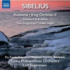 Waltteri Torikka: Kuolema (Complete), Two Songs From Shakespeare'S Twelfth Night, King Kristian Ii (Complete), Overture In A Minor, Js144