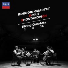 Borodin Quartet (Квартет имени Бородина): Shostakovich: String Quartets Nos.1, 8 & 14