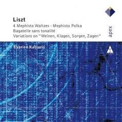 Cyprien Katsaris (Сиприан Кацарис): 4 Mephisto Waltzes / Bagatelle