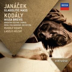 Rudolf Kempe (Рудольф Кемпе): Janacek: Glagolitic Mass/ Kodaly: Missa Brevis