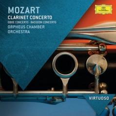 Mozart: Clarinet Concerto; Oboe Concerto