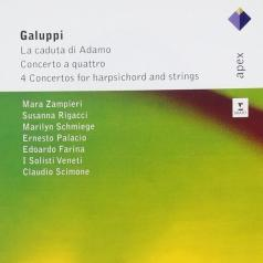 Claudio Scimone (Клаудио Шимоне): Concerto A Quattri; La Caduta Di Adamo; 4 Concertos Of Harpsichord & Strings