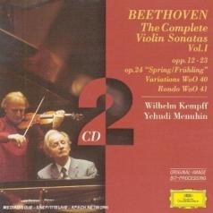 Yehudi Menuhin (Иегуди Менухин): Beethoven: Complete Violin Sonatas Vol.1
