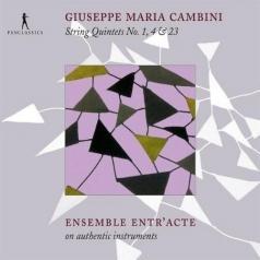 Ensemble Entr'Acte (Ансамбль Ентр'Ацте): String Quintets No. 1, 4 & 23