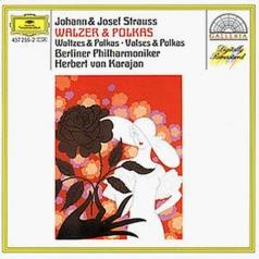 Herbert von Karajan (Герберт фон Караян): Strauss, J.I & J.II/Josef Strauss: Waltzes & Polka