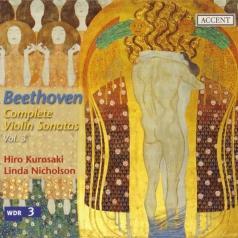 Hiro Kurosaki (Хиро Куросаки): Violin Sonatas Vol.3