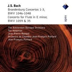 Ton Koopman (Тон Копман): Brandenburg Concertos Nos 1 - 3 & Flute Concerto