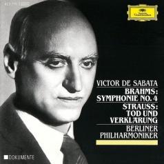 Victor De Sabata (Виктор де Сабата): Brahms: Symphony No.4/ Strauss, R.: Tod Und Verklarung