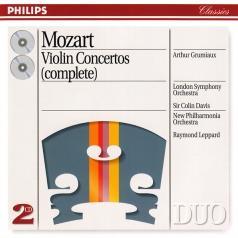 Arthur Grumiaux (АртурГрюмьо): Mozart: Violin Concertos Nos. 1/5 etc.