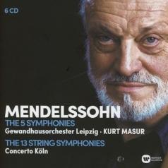 Kurt Masur (Курт Мазур): The Complete Symphonies