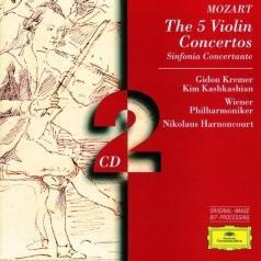 Gidon Kremer (Гидон Кремер): Mozart: 5 Violin Concertos