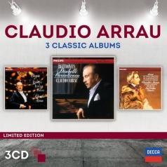 Claudio Arrau (Клаудио Аррау): 3 Classic Albums