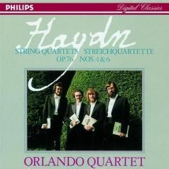 Orlando Quartet: Haydn: String Quartets, Op. 76 Nos. 4 & 6