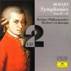 Herbert von Karajan (Герберт фон Караян): Mozart, W.A.: Symphonies Nos.35 - 41
