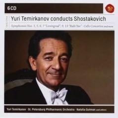 Yuri Temirkanov (Юрий Хатуевич Темирканов): Yuri Termirkanov Conducts Shostakovich