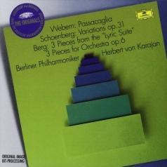 Herbert von Karajan (Герберт фон Караян): Webern, Schonberg, Berg - The Originals