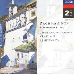 Vladimir Ashkenazy (Владимир Ашкенази): Rachmaninoff: Symphonies Nos.1-3