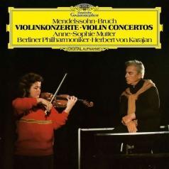 Anne-Sophie Mutter (Анне-Софи Муттер): Mendelssohn: Violin Concerto/ Bruch: Violin Concerto No.1