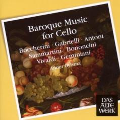 Anner Bylsma (Аннер Билсма): Baroque Music For Cello
