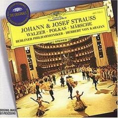 Herbert von Karajan (Герберт фон Караян): Strauss, J.II & Josef: Walzer; Polkas; M?rsche