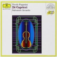 Salvatore Accardo (Сальваторе Аккардо): Paganini: 24 Capricci