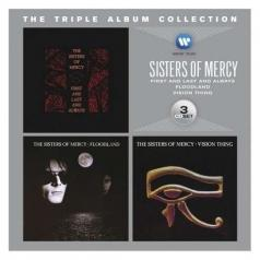 Sisters Of Mercy (Тне Систер оф мерси): The Triple Album Collection: First And Last And Always / Floodland / Vision Thing