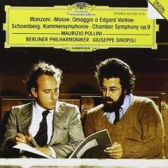 Maurizio Pollini (Маурицио Поллини): Manzoni: Masse-Omaggio A Edgard Varese