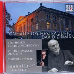 David Zinman (Давид Зинман): Violinkonzert Und Romanzen