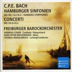 Freiburger Barockorchester (Фрайбургский барочный оркестр): Hamburger Sinfonien & Concertos