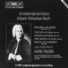 Hans Fagius (Фагиус Ханс): Complete Organ Music, Vol.6
