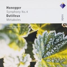 Charles Munch (Шарль Мюнш): Honegger : Symphony No.4 & Dutilleux : Metaboles
