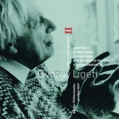 Jonathan Nott (Джонатан Нотт): Ligeti Project Vol.2 - Lontano, Atmospheres, Apparitions, San Francisco Polyphony & Concert Romanesc