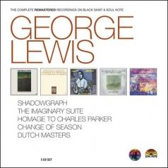 George Lewis (Джордж Льюис): Complete Black Saint & Soul Note
