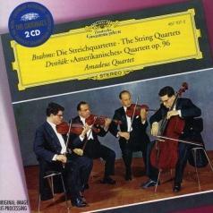 "Amadeus Quartet (Амадеус-Квартет): Brahms: The String Quartets/ Dvorak: ""American Quartet"""