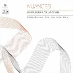 Klaus Jackle Elisabeth Riessbeck (Клаус Джекл Элизабет Риссбек): Nuances - Neue Musik Fur Flote Und Gitarre