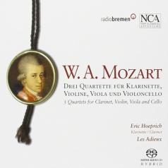 Ensemble Les Adieux (Ансамбль Лес Адиеуx): Mozart: Klarinettenquartette