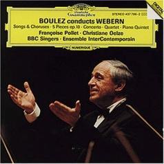 Ensemble Intercontemporain (Ансамбль Интерцонтемпораин): Boulez conducts Webern