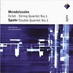 Eder Quartet (Эдди Квартет): Octet, String Quartet No. 1 & Spohr : Double Quartet No.1