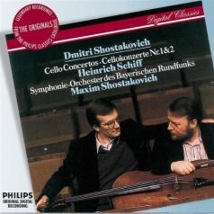 Максим Шостакович: Shostakovich: Cello Concertos Nos.1 & 2