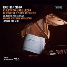 Владимир Ашкенази: Rachmaninov: The Piano Concertos & Paganini Rhapsody