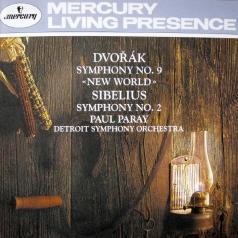 Paul Paray (Пол Парай): Dvorak: Symphony No.9/ Sibelius: Symphony No.2