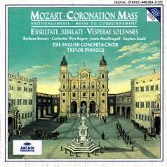 Trevor Pinnock (Тревор Пиннок): Mozart: Coronation Mass ; Exsultate, jubilate; Ves