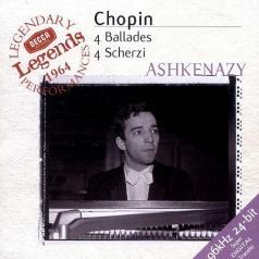 Vladimir Ashkenazy (Владимир Ашкенази): Chopin: 4 Ballades; 4 Scherzi