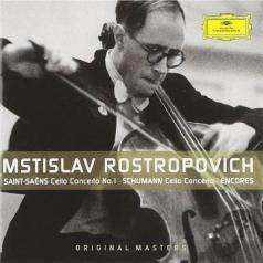 Mstislav Rostropovich (Мстислав Ростропович): Saint-Saens/ Schumann: Cello Concertos; Encores