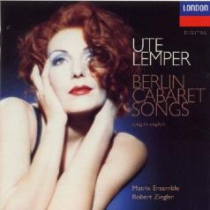 Ute Lemper (Уте Лемпер): Berlin Cabaret Songs